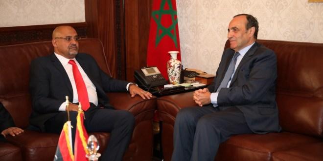 """النائب """" عبدالهادي الصغير """" يلتقي """" المالكي """" مبعوثاً من فخامة رئيس مجلس النواب"""