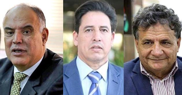 رئيس لجنة الخارجية يبحث أزمة وباء كورونا مع وزيري صحة و الداخلية بالحكومة الليبية