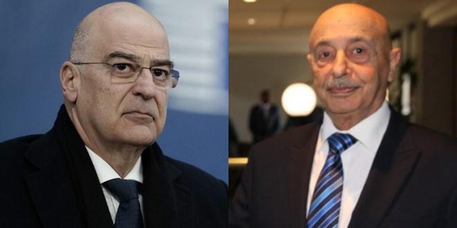 فخامة رئيس مجلس النواب يتلقى إتصالاً هاتفياً من وزير الخارجية اليوناني