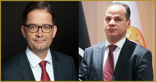 معالي النائب الثاني يبحث مع السفير الألماني تطورات الأوضاع في ليبيا