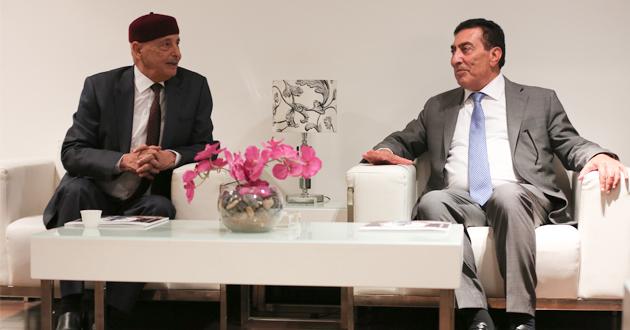فخامة رئيس مجلس النواب يصل إلى العاصمة الأردنية عمان