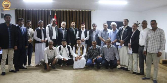 فخامة رئيس مجلس النواب يلتقي تحالف تجمع المُستقلين ومؤسسات المجتمع المدني