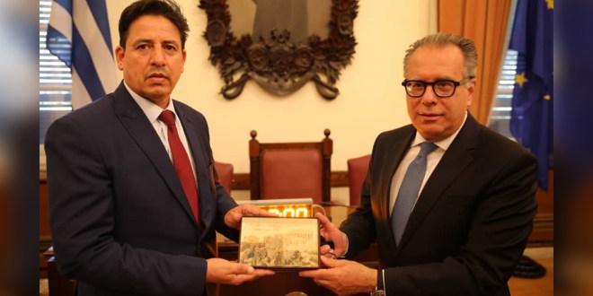 العقوري يترأس اجتماع لجنة الصداقة البرلمانية الليبية اليونانية