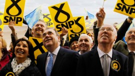 A surge in SNP support threatens the union despite the recent 'No Vote' in the Scottish referendum