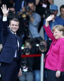Macron Meets Merkel, German Elections and European Reaction