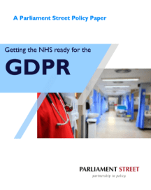 Policy Paper: Getting the NHS ready for the GDPR