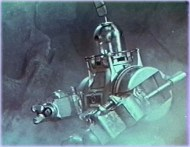 john the robot - voyage planet prehistoric women