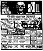 the skull newspaper ad