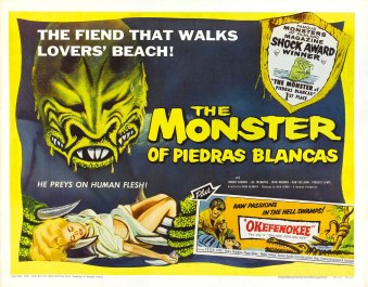 the monster from Piedras blanca poster 2