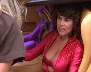 Adrienne showing off her assets (not from this film)