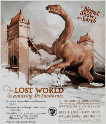 The Lost World 1925 - poster 3 b