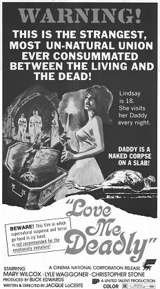 Love me deadly ad