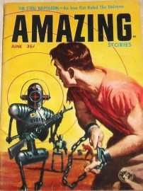 Amazing Stories - robots 1957