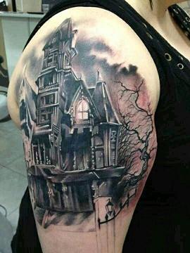 haunted house tat