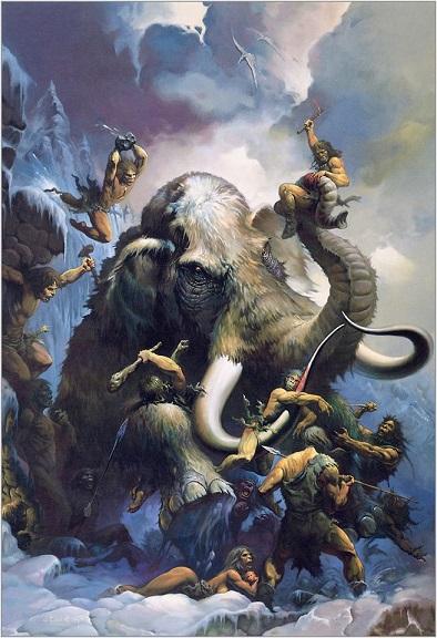Ken Kelly Mammoth Hunt