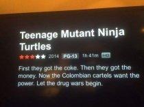 movie summary - Mutant Ninja Turtles