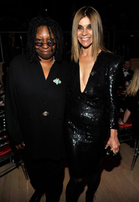 whoopi and french vogue eic