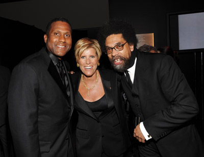 tavis smiley, suze orman, cornel west