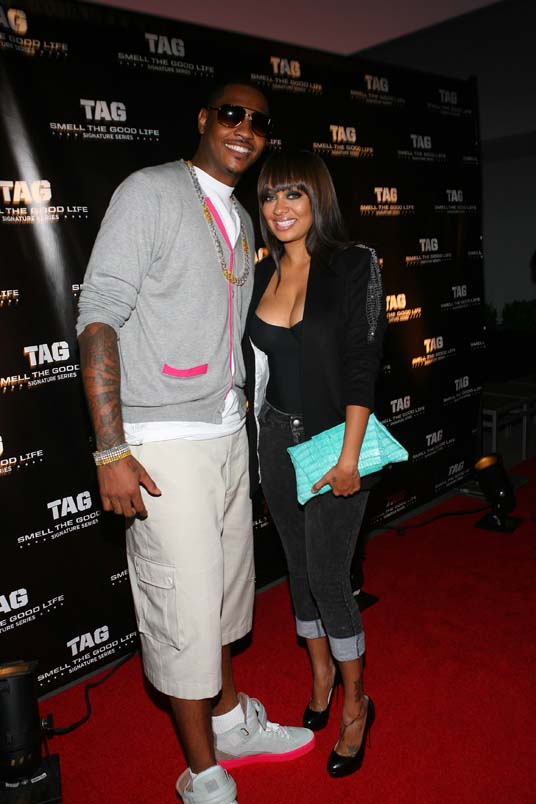 La La and Melo (check the heels)