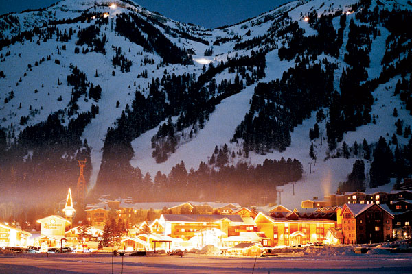 Jackson Hole At Night