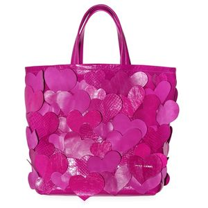 Marc Jacobs Big Heart Love Story Tote Leather