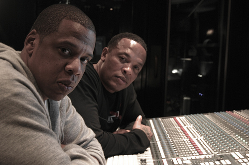 dr-dre-and-jay-z-in-the-studio