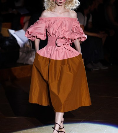 marc jacobs spring 2011 pink dress