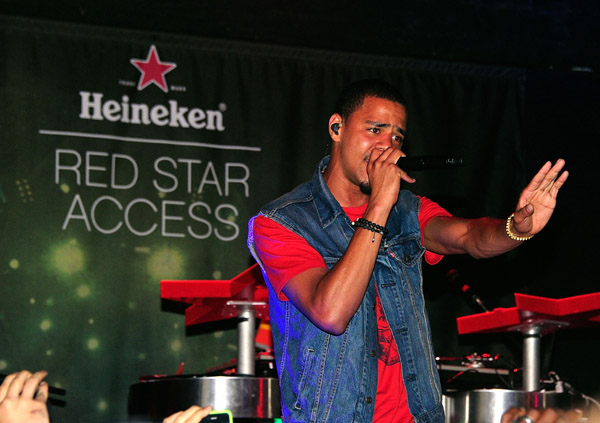 jcole red star august 2011