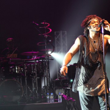 D'Angelo in London 2012