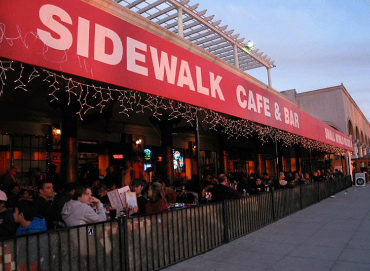 Venice Beach's The Sidewalk Cafe