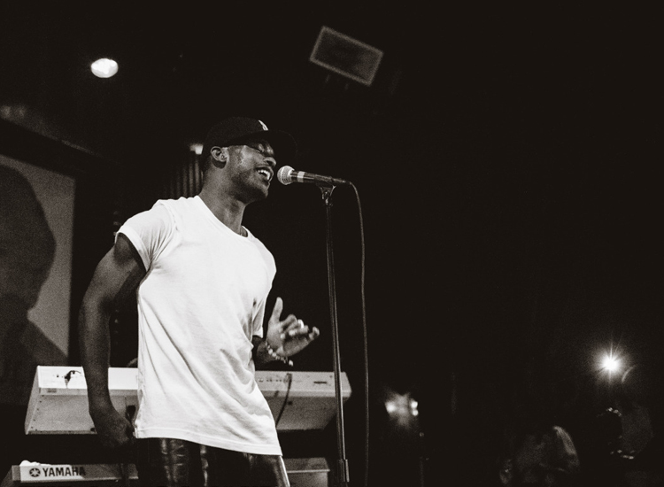 Luke James at The Sayers Club of Hollywood