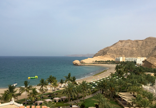 A view of the beaches of AL Waha and Al Bandar