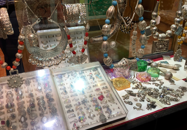 Traditional silver of Oman
