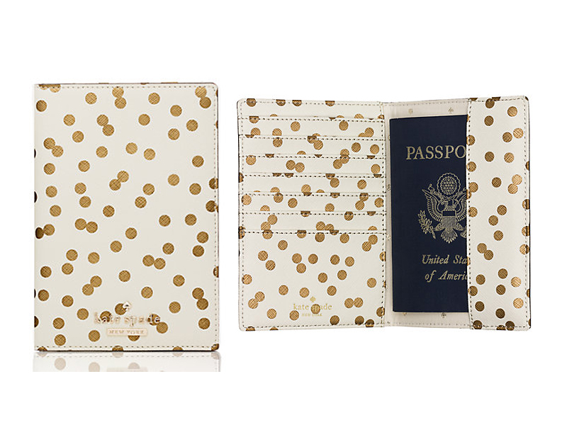 Cedar Street Confetti Passport Holder