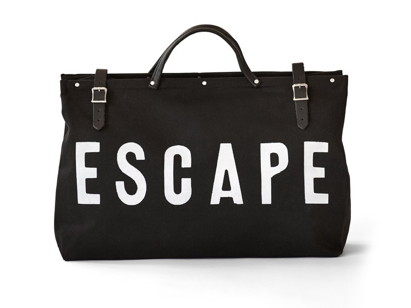 ESCAPE Canvas Weekend Bag