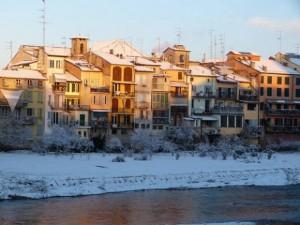 Lunedì allerta neve  in città e provincia