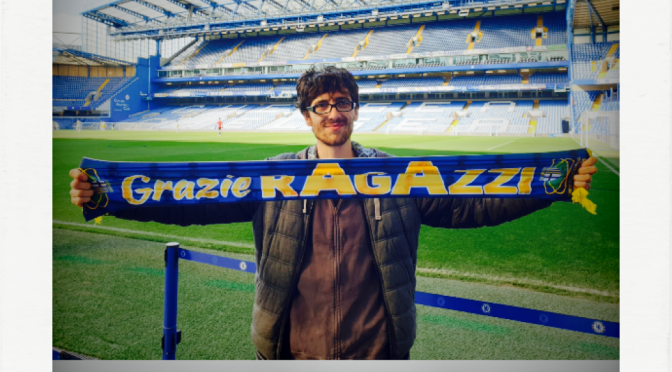 Travelling Parmigiani: Alessandro in Stamford Bridge