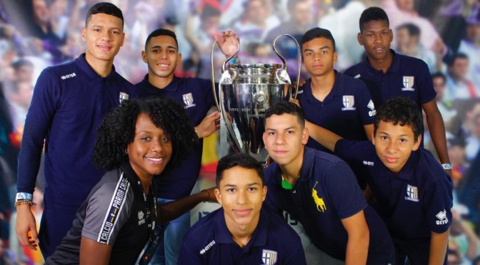 A Parma Academy in Panama: next stop Champions League Final