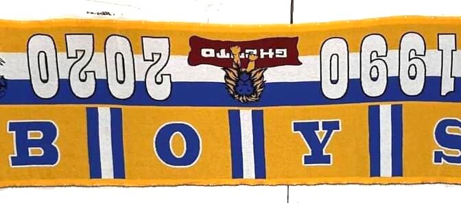 Boys: 30 years from that 27th may and a limited scarf to celebrate it