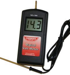 813 parmak precision digital electric fence tester [ 1082 x 1028 Pixel ]