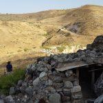Сусита - вид на Голаны, израильский дзот