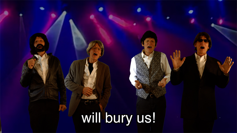 THE AGE THAT WILL BURY US  (Parody of The Age of Aquarius)