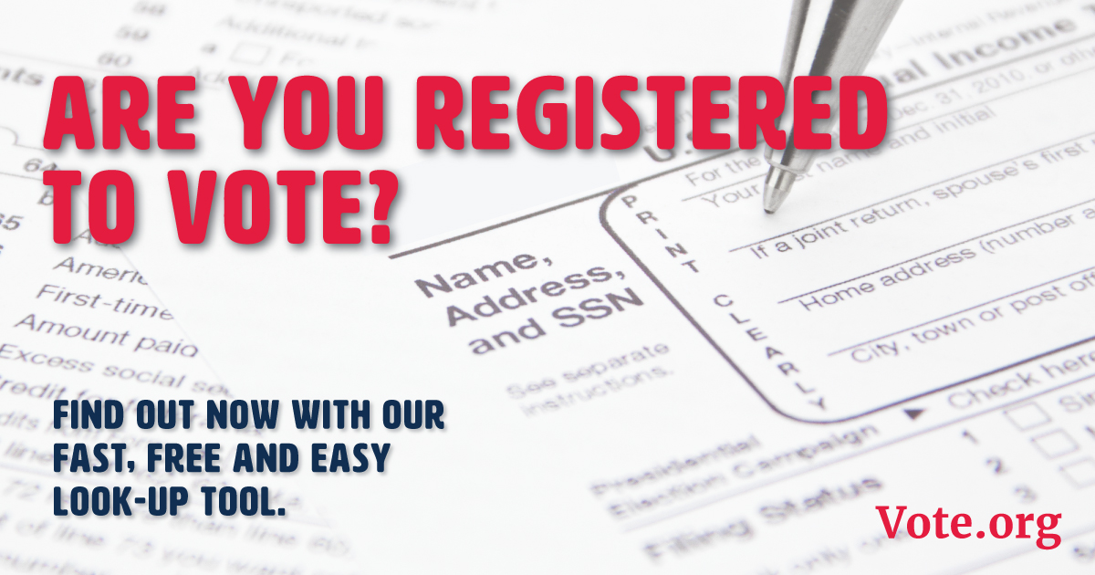 VERIFY YOUR VOTER REGISTRATION