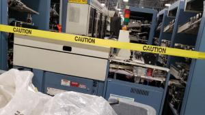 Postmaster General removes mail sorting machines