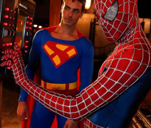 Spiderman Vs Superman Xxx