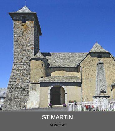 Eglise d'Alpuech - Paroisse Sant Guiral