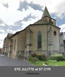 Eglise de Cassuejouls - paroisse Sant Guiral
