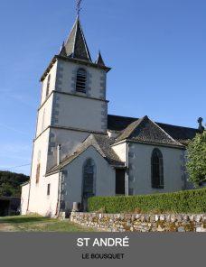 Eglise du Bousquet - paroisse Sant Guiral