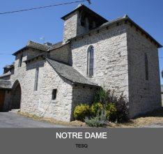 Eglise de Tesq - paroisse Sant Guiral