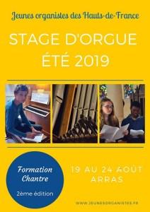 Stage Orgue ETE 2019